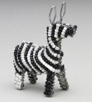 Mini Beaded Wire Zebra