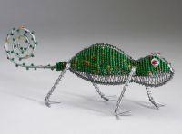 SM Beaded Wire Chameleon
