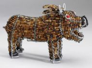 SM Beaded Wire Lion